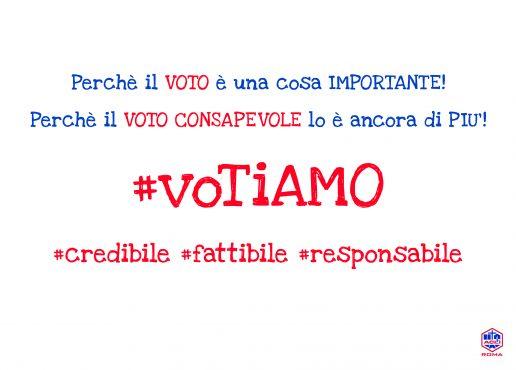"""Al via """"#voTiAMO"""", la campagna di sensibilizzazione al voto consapevole"""