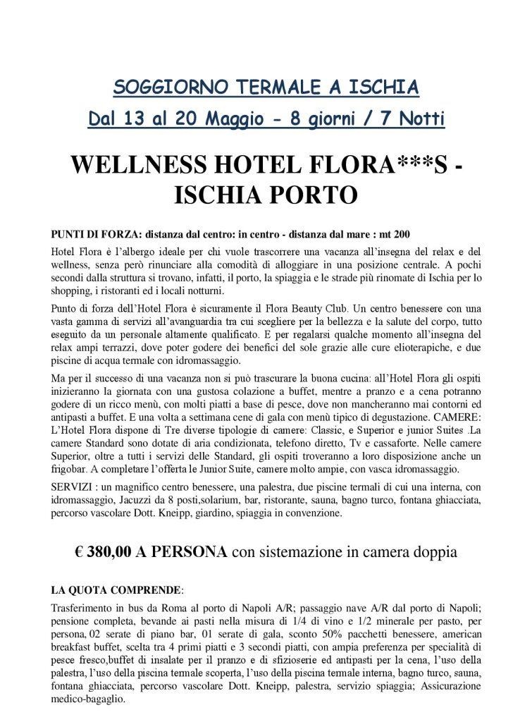 Soggiorno termale a Ischia - 13/20 maggio 2018 | ACLI Roma