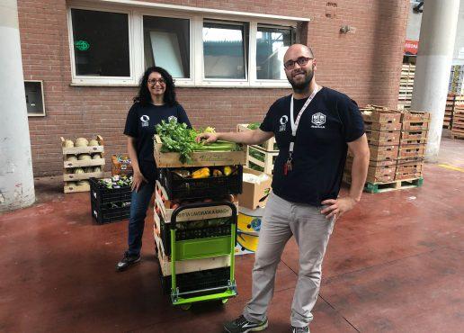 La solidarietà non va in vacanza, recuperati oltre 1000 kg di frutta e verdura grazie alla collaborazione con il CAR